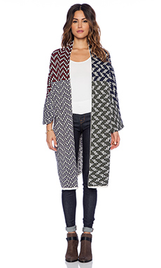 Tigerlily Manche Cardi in Patchwork