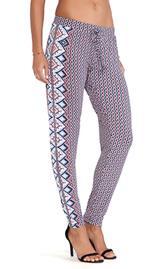Tigerlily Tuileries Pant in Indienne Rose