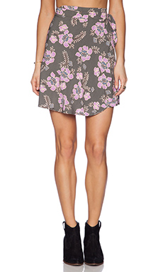 Tigerlily Talamanca Wrap Skirt in Floral