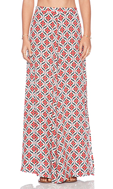 Tigerlily Daltvila Maxi Skirt in Salt