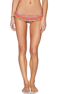 Tigerlily Solaire Tribal Bikini Bottom in Multi