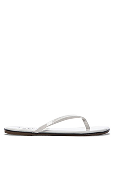 TKEES Sandal in Snow Glider