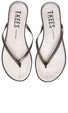 TKEES Sandal in Frosty Grey