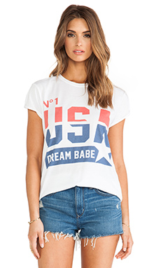 The Laundry Room Dream Babe Tee in White