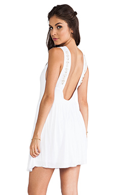Tylie Cowrie Romance Dress in White
