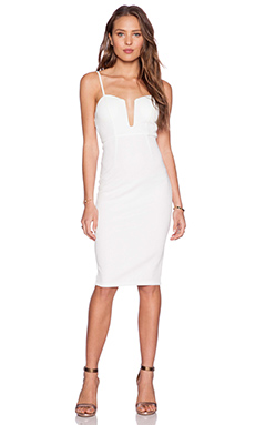 tiger Mist Miranda Midi Dress in White