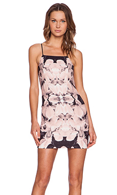 tiger Mist Blush Mini Dress in Peach