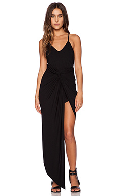 Toby Heart Ginger x Love Indie Knots Maxi Dress in Black