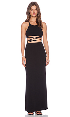 Toby Heart Ginger Newport Maxi Dress in Black