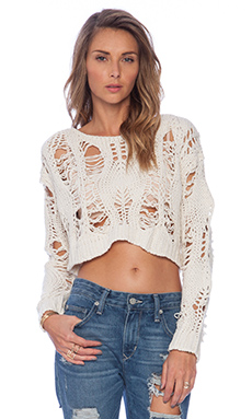 Toby Heart Ginger Izabel Knit in Cream