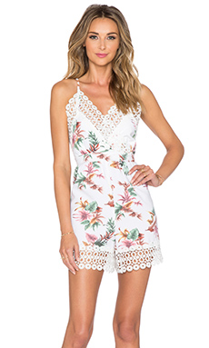 Toby Heart Ginger Tropical Paradise Playsuit in Tropical Print