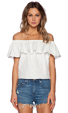 Toby Heart Ginger Pixie Blouse in White