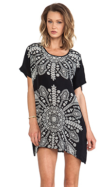 Tolani Tiffany Mini Dress in Black