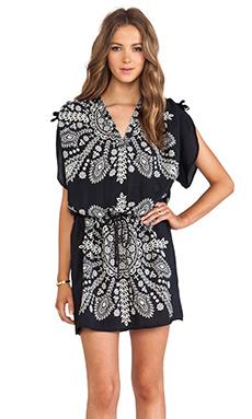 Tolani Nicole Mini Dress in Black