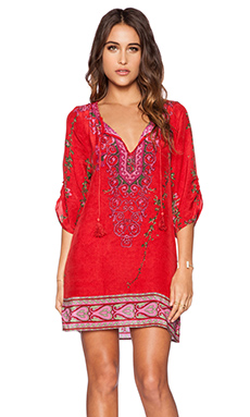 Tolani Zoe Dress in Red