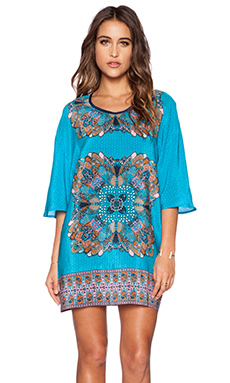 Tolani Kristy Dress in Turquoise