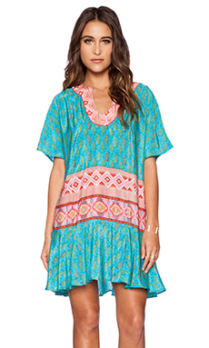 Tolani Elise Dress in Turquoise