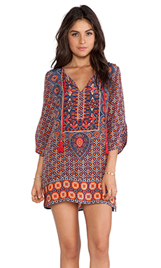 Tolani Camryn Tunic in Navy