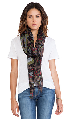 Tolani Tribe Scarf in Black