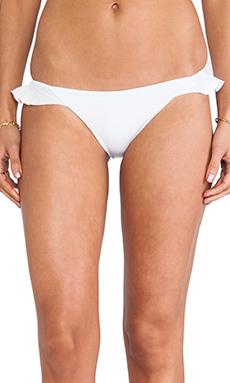 Tori Praver Swimwear Cabazon Bikini Bottom in White