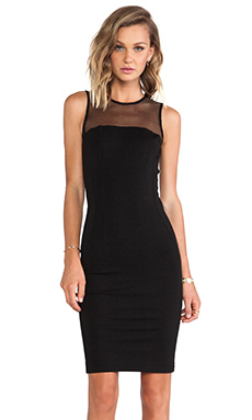 Torn by Ronny Kobo Carson Dress in Black
