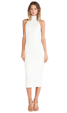 Torn by Ronny Kobo Thiadora Dress in Ivory