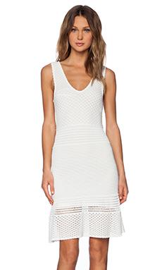Torn by Ronny Kobo Nikki Dress in White
