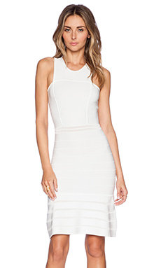 Torn by Ronny Kobo Hase Dress in White