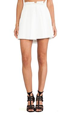 Torn by Ronny Kobo Odelia Skirt in White