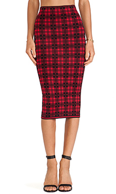 Torn by Ronny Kobo Ronny Skirt in London Plaid