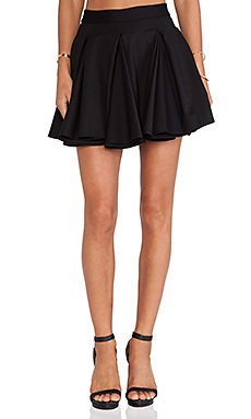 Torn by Ronny Kobo Gwen Skirt in Black