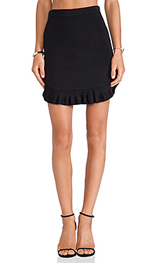 Torn by Ronny Kobo Allegra Skirt in Black