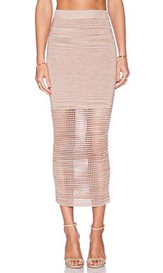 Torn by Ronny Kobo Karima Skirt in Blush