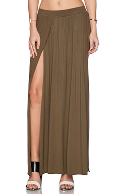 Ronny Kobo Boba Skirt in Safari Green