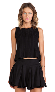 Torn by Ronny Kobo Ebony Top in Black