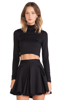 Torn by Ronny Kobo Sulan Top in Black