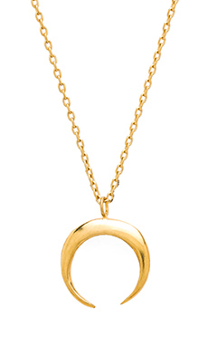 TORCHLIGHT Crescent Necklace in Gold