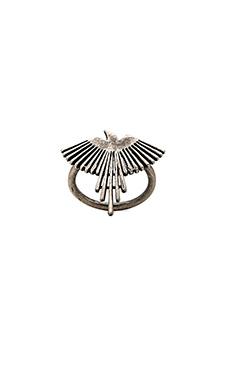 TORCHLIGHT Thunderbird Ring in Antique Silver