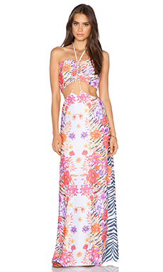 Trejoa Cutout Dress in Print G