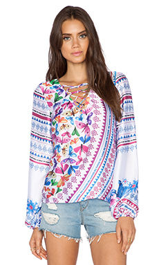 Trejoa Maria Top in Print E