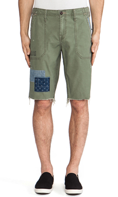 True Religion Repaired Peace Corps Short in Olive