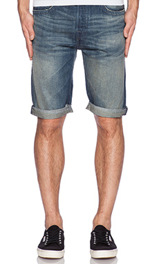 True Religion Quick Fade Dean Short in Reckless Nomad