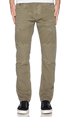 True Religion Geo Patched Quilted Dean Twill in March