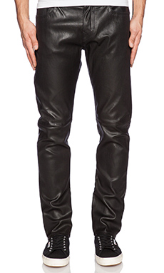 True Religion Dean Leather Pant in Raw