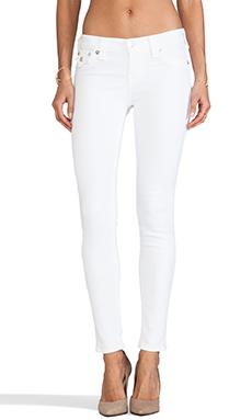 True Religion Serena Legging in Optic White