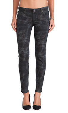 True Religion Casey Skinny in Tiger Camo