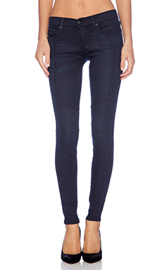 True Religion Halle Moto Skinny in Painful Love