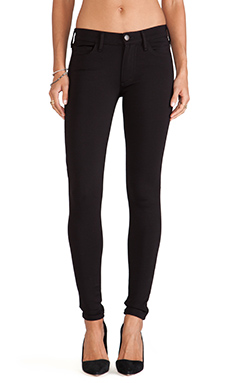 True Religion Halle Ponte Skinny in Black