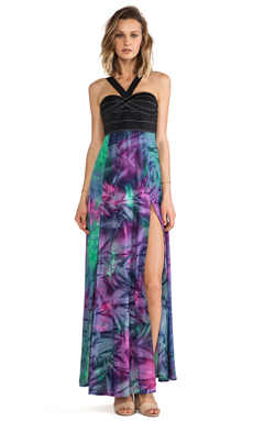 This is a Love Song Boulevard Dress in Black & Tie Dye 1