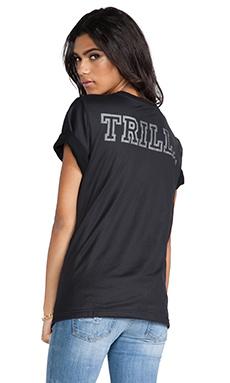 This is a Love Song 11 Trilla Tee in Black